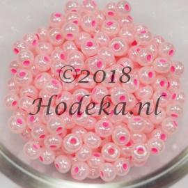 CRP06/53  12 gram Preciosa Rocailles 6/0  Roze met roze kern