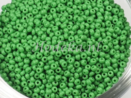 CRP11/53  12 gram Preciosa Rocailles 11/0 Groen
