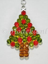 """KBP04 Hanger kerstboom """"Groen & Rood"""""""