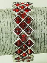 OKP04 Ornamenten kruis armband pakket Rood