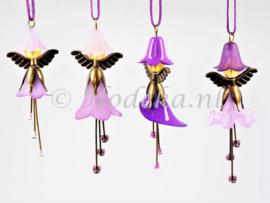 FFP20  Flower Fairies pakket set van 4 Paars
