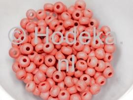 CRP06/15  12 gram Preciosa Rocailles 6/0 oud roze mat