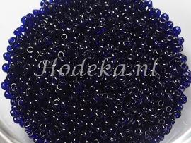 CRP10/32  12 gram Preciosa Rocailles 10/0 Donker blauw