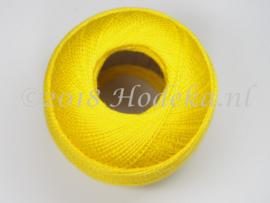 CPG33 Haak, borduur 100% katoen garen 10 gram 85 meter Geel