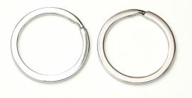 SLR01a   3 x Sleutelhanger ring rond 32mm