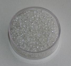 CNR08/09   Rocailles 50 gr. Transparant 8/0