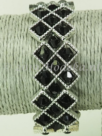 OKP03 Ornamenten kruis armband pakket Zwart