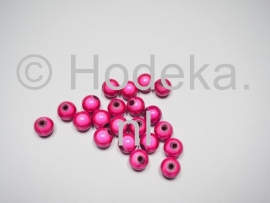 MIR08/10  12 X miracle beads Knal roze  ca. 8mm