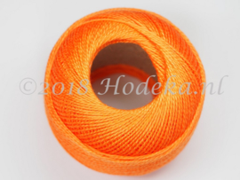 CPG34 Haak, borduur 100% katoen garen 10 gram 85 meter Oranje