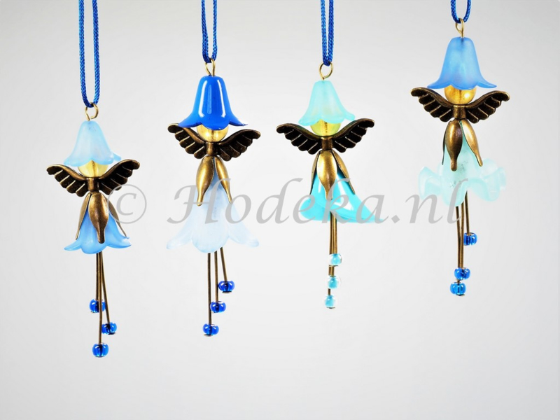 FFP25  Flower Fairies pakket set van 4 Blauw
