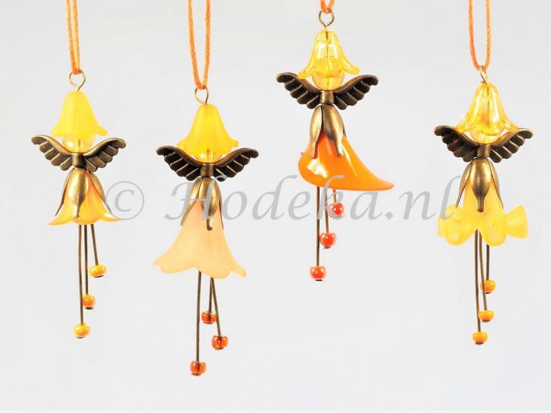 HMH10  Flower Fairies set van 4 Oranje kant en klaar