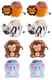 cupcakewikkel dierentuindieren (2515)