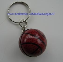 sleutelhanger met metalen baseball  (3023)
