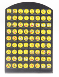 Set emoticon oorbellen (2210)