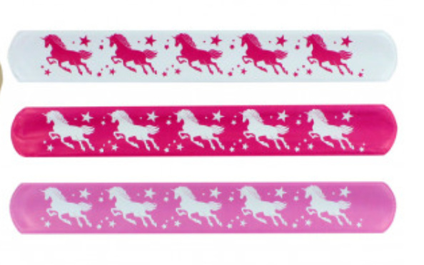 Klaparmband unicorn/eenhoorn (0118)