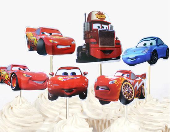 prikker van Cars  (2111)