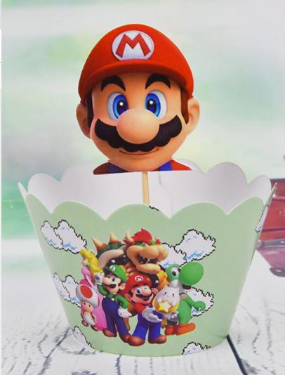 cupcakewikkel + prikker Mario (3622)