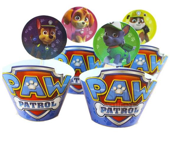 Paw patrol wikkel met prikker (2520)