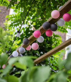 Outdoor cotton lights - Roza Viejo - Fairtrade