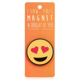 I saw this magnet and ... Heart Eyes Emoji