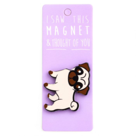 I saw this magnet and ... Pug