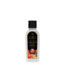 White peach & Lilly Geurlamp olie 250 ml