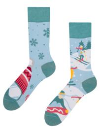 Vrolijke Sokken - Op de Ski's - Mt. 39-42
