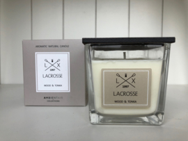 Scented Candle - Wood & Tonka - Lacrosse