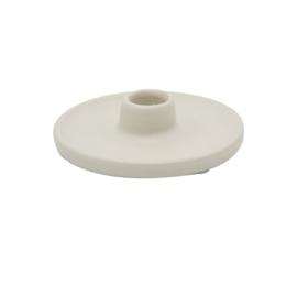 Kandelaar - Floss Wit - Kaarshouder - dinerkaars Scentchips®