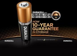 Duracell Duralock3 x AAA