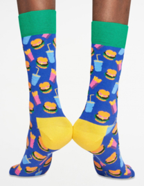 Happy Socks - Hamburger  mt 41 - 46