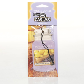Lemon lavender  - Car Jar - Yankee candle