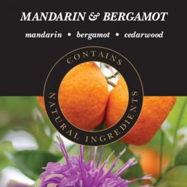 Mandarin & Bergamot Geurlamp olie 250 ml