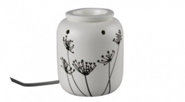 Elektrische Warmer – Vase Black