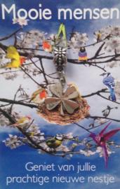 Geniet van jullie prachtige nieuwe nestje