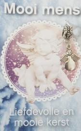 Liefdevolle en mooie kerst - engeltje