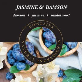 Jasmine & Damson Geurlamp olie 250 ml