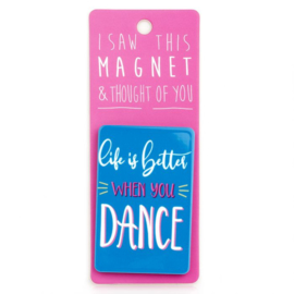 I saw this magnet and ... Dance