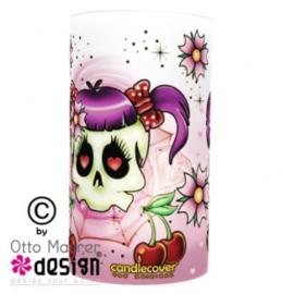 Candlecover - Tattoo Girl Skull
