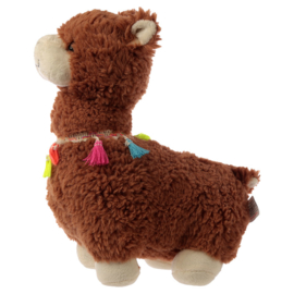Bruine Lama Deurstopper