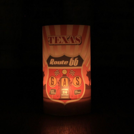 Candlecover - Route 66 - Texas