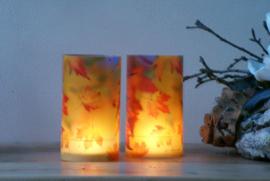 Candlecover - Herfstbladeren