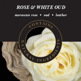 Rose & White Oud Geurlamp olie 250 ml