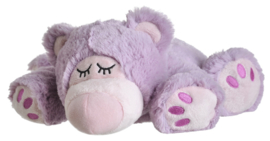 Warmies ®  Sleepy bear - Lila