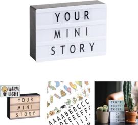 LEDR Lightbox & Letterbox
