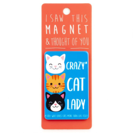 I saw this magnet and ... Crazy Cat Lady