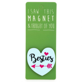 I saw this magnet and ... Besties