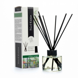 Boles d'olor geurstokjes Black Edition + 125 ml geurolie - Urban Jungle