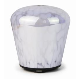 Glass Diffuser Mushroom white Dots