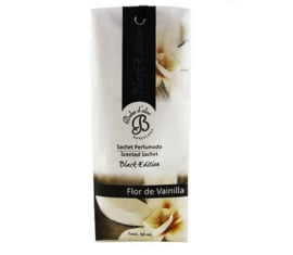 Geurzakje Black Edition - Flor de Vainilla Vanille bloemen
